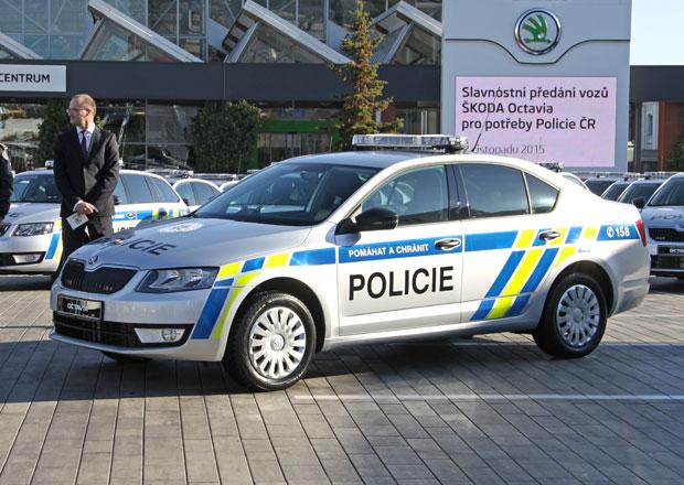 Policie dostala nové Škody Octavia. Jsou opravdu speciální!
