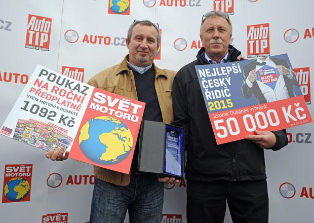 Vítěz soutěže Nejlepší český řidič 2015: Výhru dají charitě