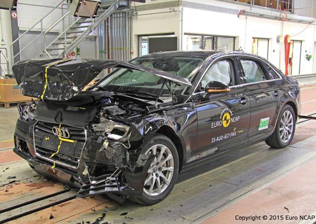Euro NCAP 2015: Audi A4 – Pět hvězd i pro novou generaci