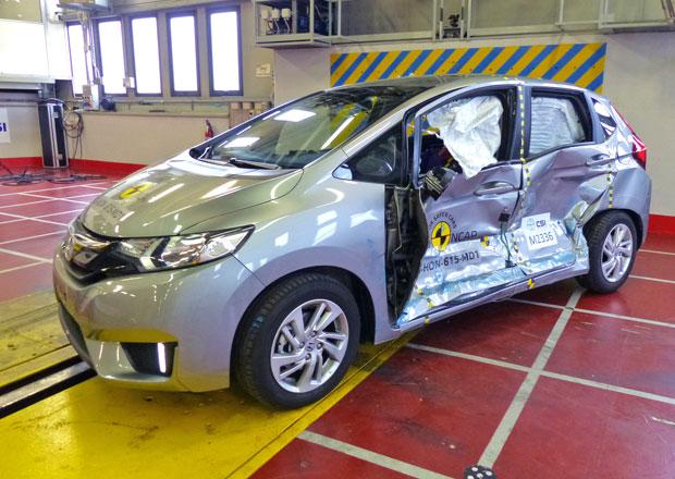 Euro NCAP 2015: Honda Jazz � P�t hv�zd bez zav�h�n�