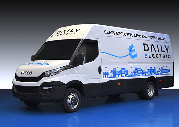 Iveco odhaluje nové Daily Electric