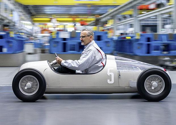 Auto Union Typ C: Replika z 3D tiskárny