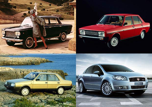 Berlina zTurína: Kompaktní sedany Fiat 1950-2015