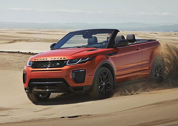 Range Rover Evoque Convertible: Nebe nad hlavou za 18 sekund (+video)