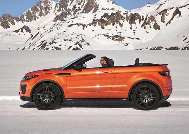 Range Rover Evoque Convertible: České ceny a specifikace motorů