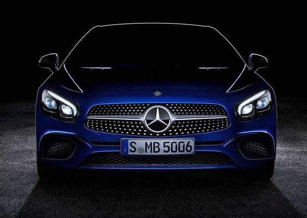 Mercedes-Benz SL: Modernizovaný roadster na prvním snímku