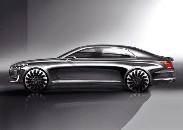 Značka Genesis bude vyrábět i zadokolku velikosti BMW 3