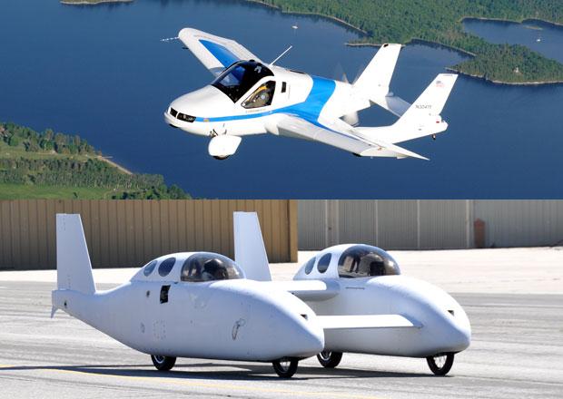 Téma: Létající automobily, nebo jezdící letadla?