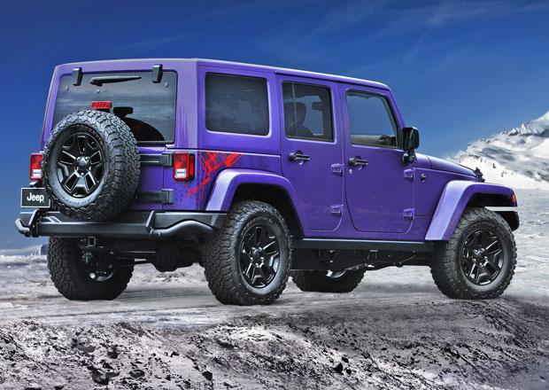 Jeep Wrangler Backcountry má oslavovat zimní sezónu