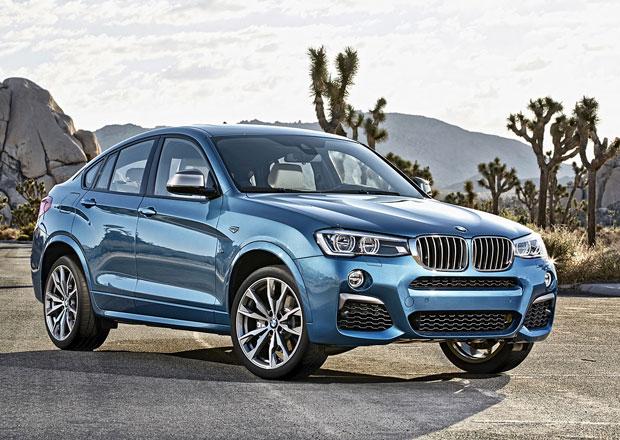 BMW X4 M40i má českou cenu, je o 309.400 Kč dražší než xDrive35i