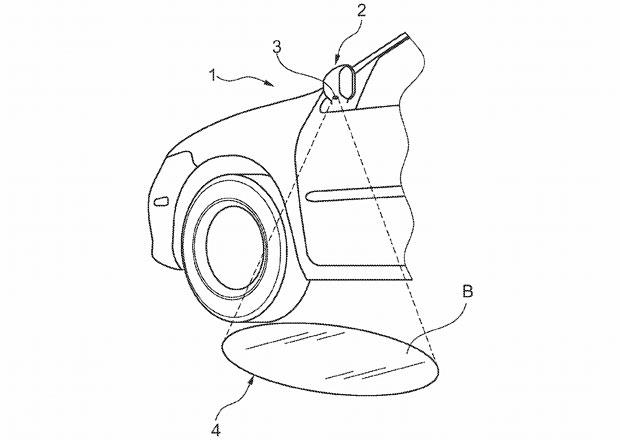 Ford si nechal patentovat... světýlka do zrcátek