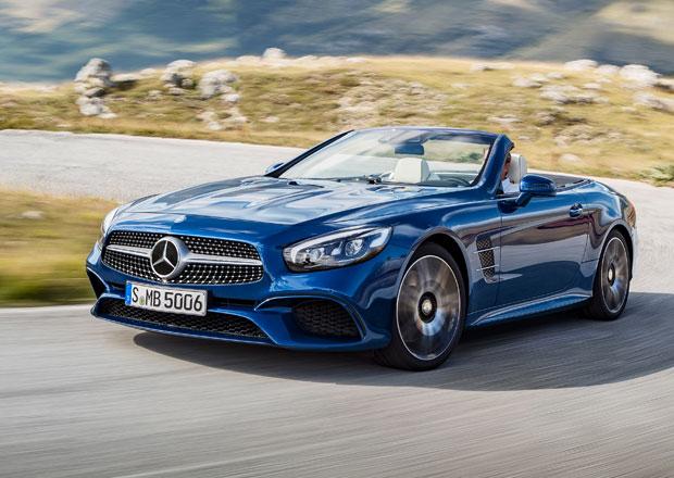 Modernizovaný Mercedes-Benz SL je tady, podobá se AMG GT