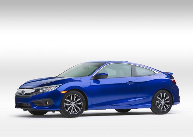 Honda Civic Coupe 2016: Dynamický vzhled i motory