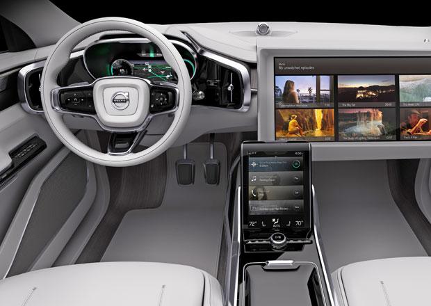 volvo concept 26 luxusn kabina s autopilotem. Black Bedroom Furniture Sets. Home Design Ideas