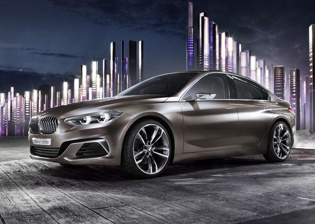 BMW Concept Compact Sedan: Tohle bude p�edokolkov� jedni�ka