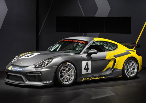 Porsche Cayman GT4 Clubsport je jen pro závodní dráhy (+video)