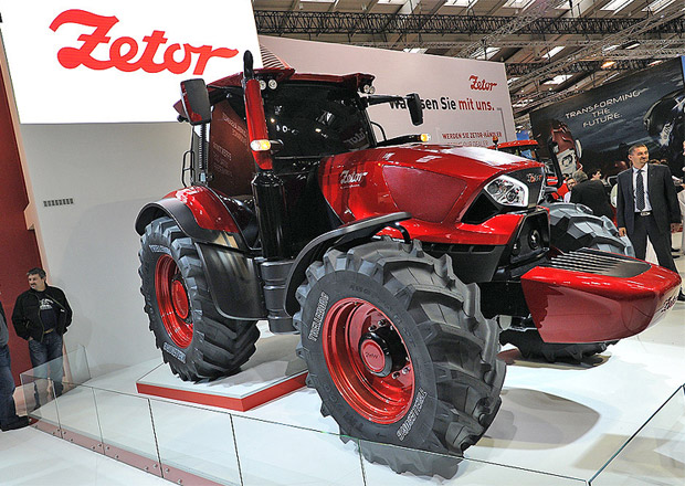 Zetor uspěl na veletrhu Agritechnica (+video)