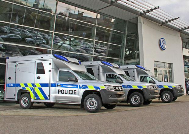 Policie dostala nové Volkswageny Amarok, kriminalisté s nimi dojedou kamkoliv
