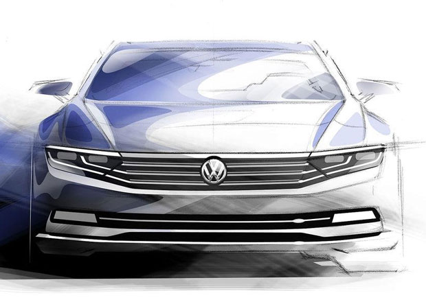 Volkswagen Phaeton II: Pouze na elekt�inu u� za p�t let