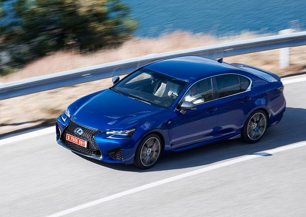 Lexus GS F odhaluje české ceny, je levnější než BMW M5