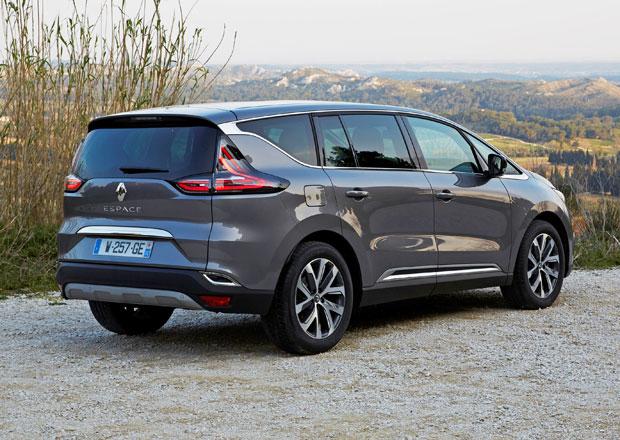 Renault odmítá nařčení, že Espace 1.6 dCi má až 25x vyšší emise