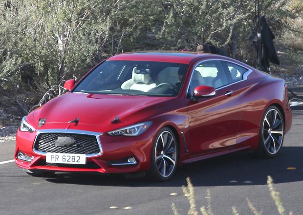 Špionážní fotky: Infiniti Q60 Coupe plně odhaleno