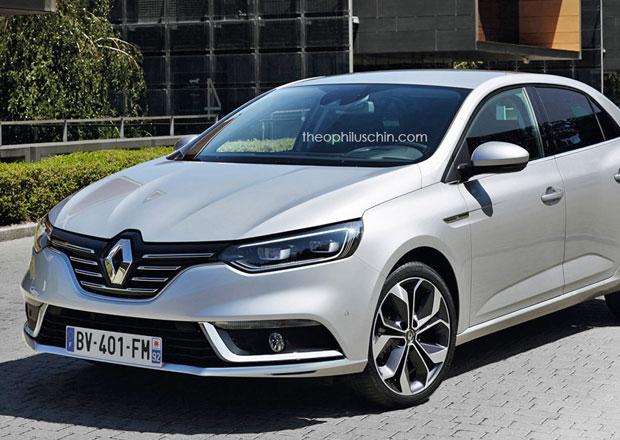 Renault Fluence nové generace: Bude vypadat takto?