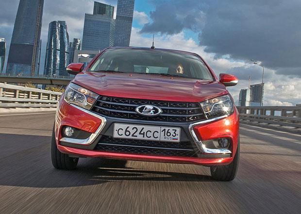 Lada Vesta a XRAY se budou prodávat v EU, splní normu Euro 6
