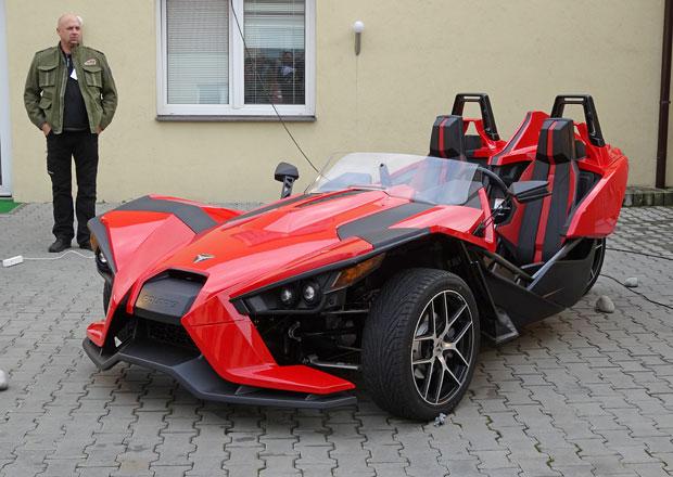 Tříkolka Polaris Slingshot vstupuje na český trh, stojí 810.000 korun