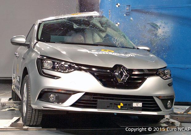 Euro NCAP 2015: Renault Mégane – Návrat k pěti hvězdám