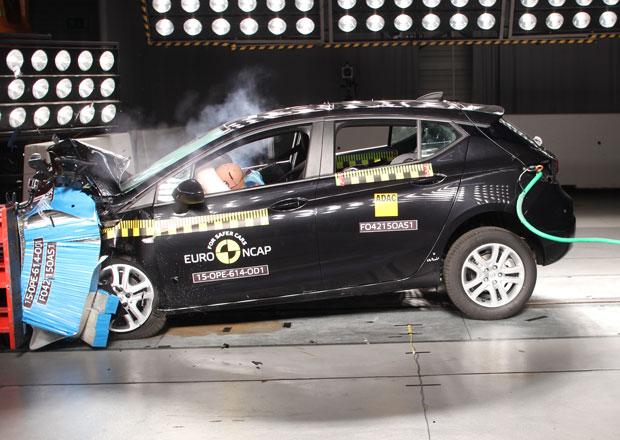 Euro NCAP 2015: Opel Astra – Pět hvězd i pro novou generaci