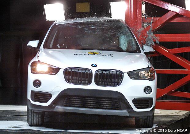 Euro NCAP 2015: BMW X1 – Pět hvězd i podruhé