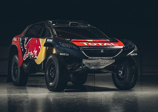 Peugeot 2008 DKR v barvách pro Dakar 2016