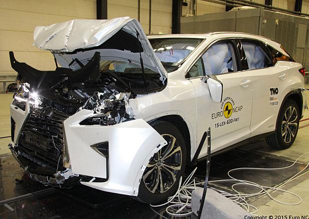 Euro NCAP 2015: Lexus RX – Navzdory potížím za pět hvězd