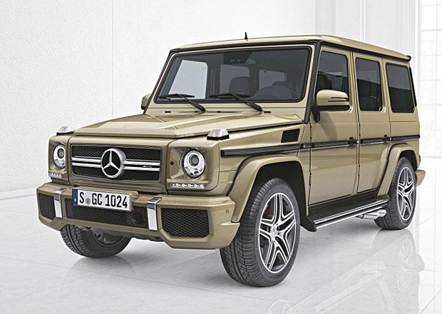 Doplňky pro Mercedes-Benz G: Geländewagen lze vyšperkovat už v továrně