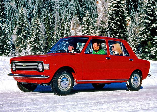Seriál evropské Automobily roku: Fiat 128 (1970). První předokolka od Fiatu.