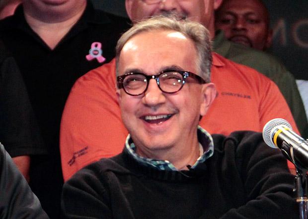 Sergio Marchionne již nechce spojení FCA s GM