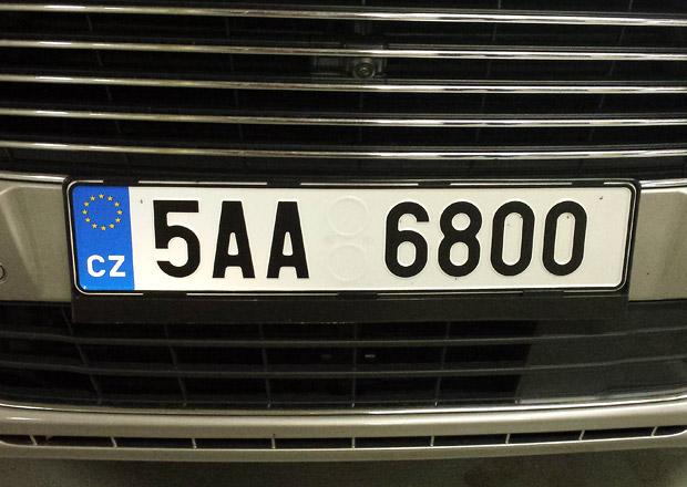 Vl�da schv�lila jednodu��� registraci aut a zna�ky na p��n�