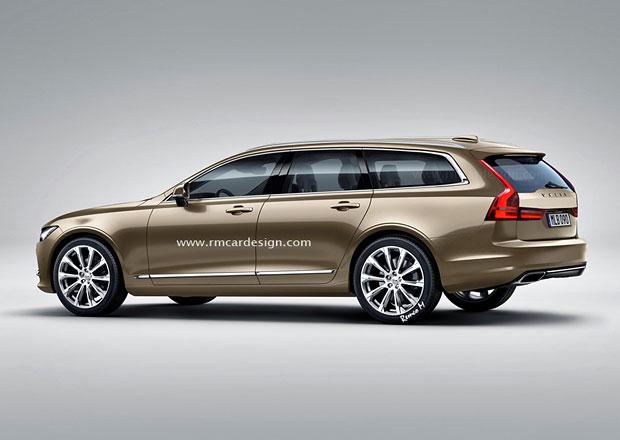 Volvo V90: Tak bude vypadat prestižní švédské kombi