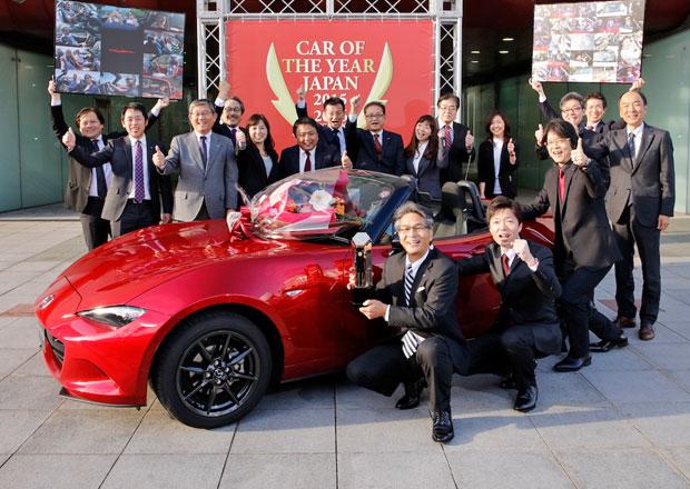 Mazda MX-5 je Japonským autem roku 2015-2016