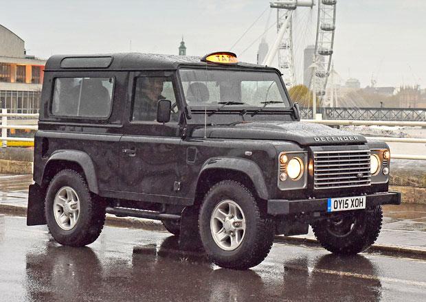 Land Rover Defender ovládl Londýn (+video)