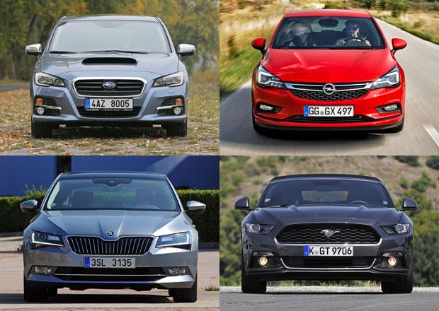 Anketa Auto roku 2016 v ČR zná pětici finalistů, nechybí Superb nebo Astra