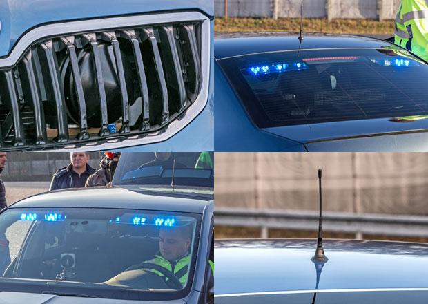 Policie převzala nové civilní Octavie. Jak je poznáte? (+video)