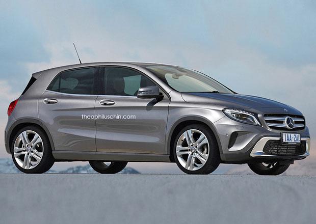 Crossover od Mercedesu na b�zi Renaultu Clio? N�jak takto by mohl vypadat.