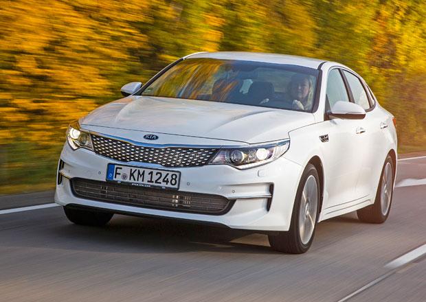 Kia Optima přijíždí na český trh, s jediným motorem začíná na 684.980 Kč