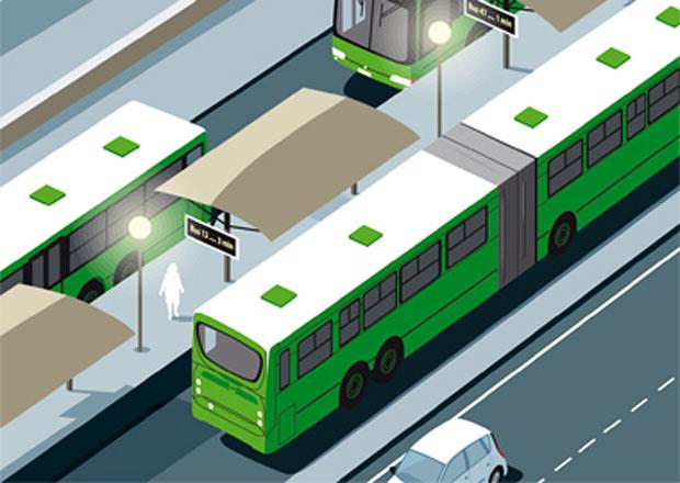 Scania a výhody systémů Bus Rapid Transit