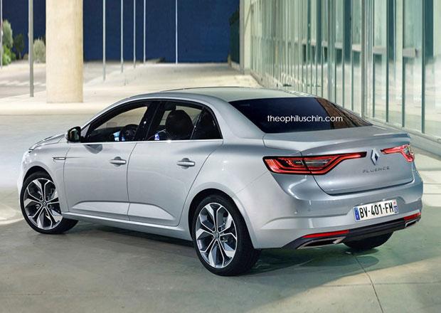 Renault počítá s nástupcem Fluence. Už to ale nebude Fluence...