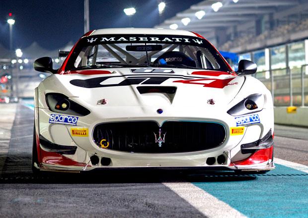 Rychl� italsk� kr�sa: Maserati GranTurismo MC GT4 pro sez�nu 2016 (+video)