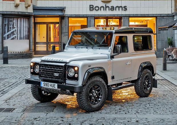 Land Rover: Dvoumiliontý Defender vydražen
