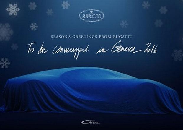 Bugatti: V�no�n� p��n� se siluetou Chironu